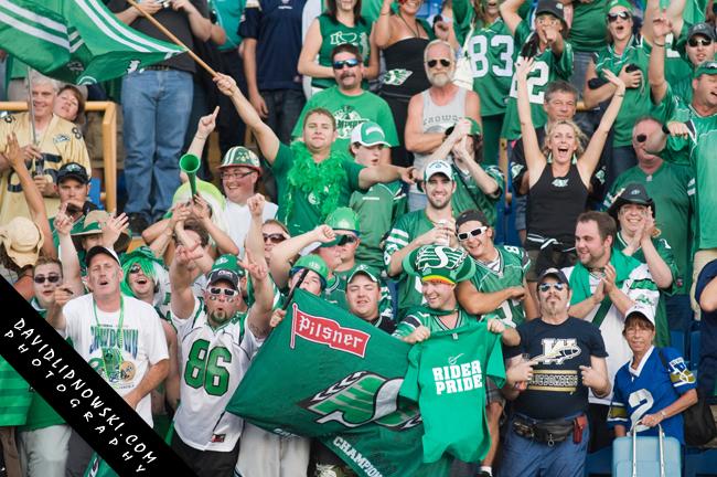 Saskatchewan Roughriders fans